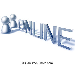 Online word graphic