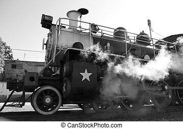 steam train  - steam train