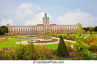 Schloss Charlottenburg (Charlottenburg Palace) in Berlin,...