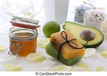 Body Care - Fresh fruit, honey and herb soup with wellness...