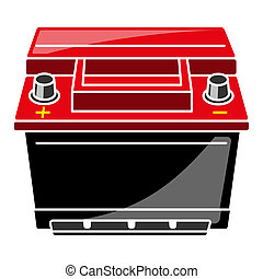 Car Battery Illustration