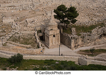 Absaloms Monument,Jerusalem - The tomb of King Davids son...