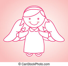 religious design over pink background vector illustration