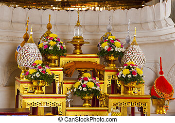 Altar in a Buddhist Temple