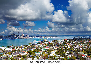 Auckland, New Zealand - Auckland is largest city of New...