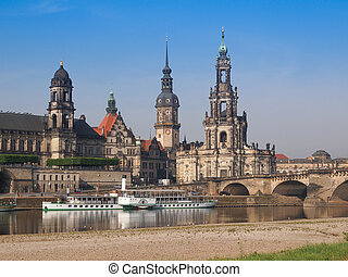 Dresden Hofkirche - Dresden Cathedral of the Holy Trinity...