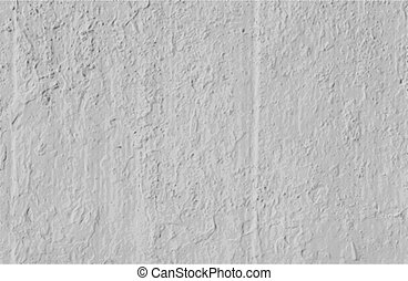 Vector Grungy White Concrete Wall Background - Grunge white...