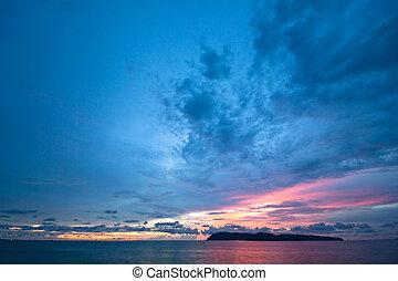 Langkawi - Beautiful colorful sunset sky in Langkawi ?...