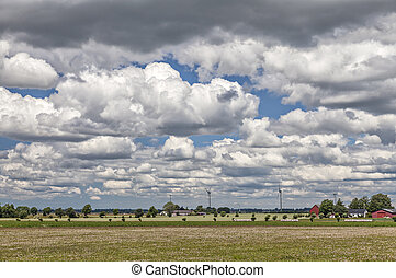 Rural swedish landscape