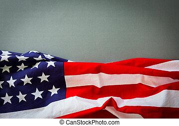 American flag  - American flag