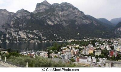 Timelapse at Riva del Garda, Italy - Timelapse at Riva del...