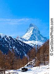 Matterhorn , Swiss Alps