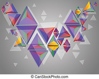 Colorful 3d Triangles