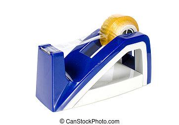 blue tape dispenser use for cut tape
