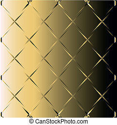 Abstract golden black background with metallic