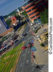 Street in Brno.
