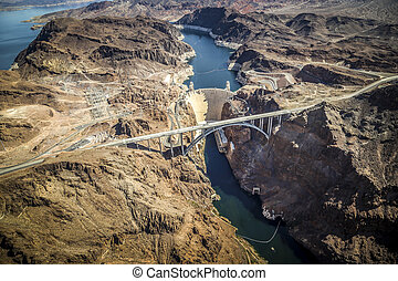 Hoover Dam and Lake Mead, Las Vegas N - Hoover Dam Lake...