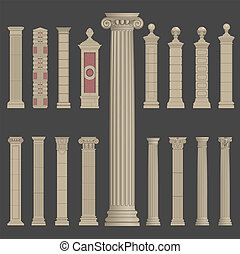 pillar column roman greek architecture - pillar column...