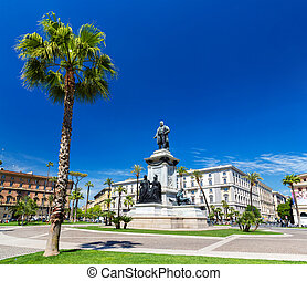 Piazza Cavour in Rome, Italy