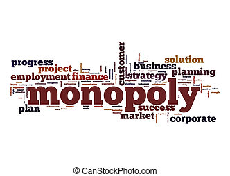Monopoly word cloud