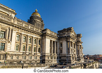 Law Courts of Brussels, Belgium
