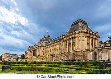 Royal Palace of Brussels, Belgium