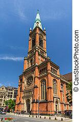 Johannes Church (Johanneskirche) in Dusseldorf, Germany