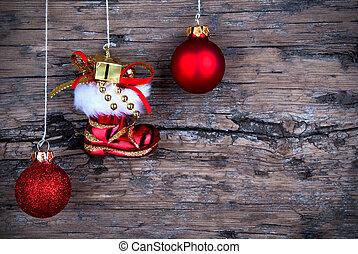 Santa Claus Winter Background