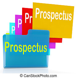 Prospectus Files Shows Folder Inform And Business -...