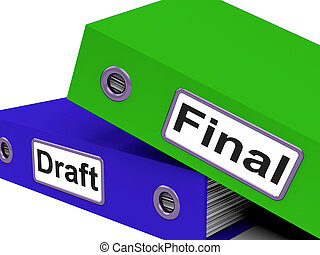 Final Draft Represents Document Key And Complete - Final...