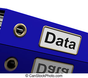 Data Storage Indicates Hard Drive And Administration - Data...