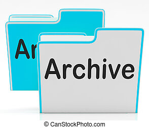 Files Archive Shows Library Storage And Archives - Files...