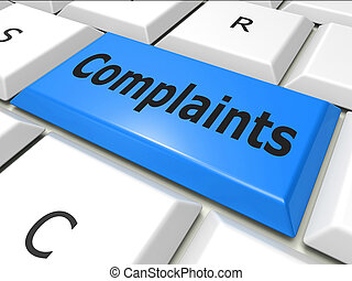 Complaints Www Indicates World Wide Web And Dissatisfied -...