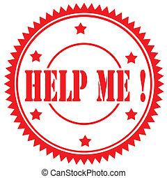 Help Me!-stamp