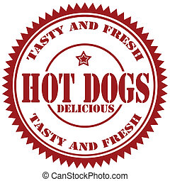 Hot Dogs-stamp