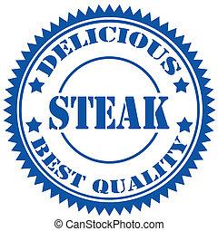 Steak-stamp