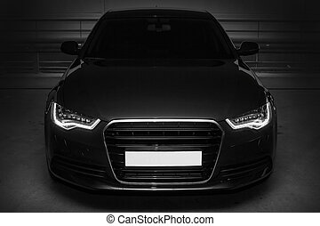 black powerful sports car - beautiful black powerful sports...