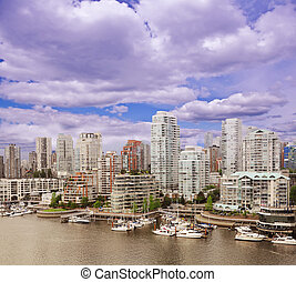 Vancouver downtown. British Columbia, Canada.