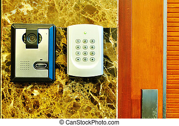 Access Control sytem - keypad for access control of Security...