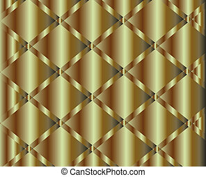 Brushed copper plate background