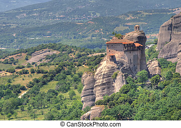 Monastery of Meteora in Greece