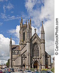 St Marys Cathedral, Kilkenny, Ireland - A front quarter view...