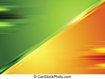 Bright contrast vector background