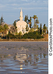 Hala Sultan Tekke Mosque - Hala Sultan Tekke or Mosque of...