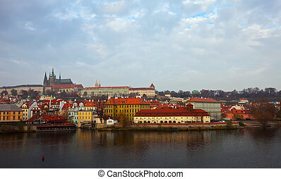 view of Prague. Czech Republic