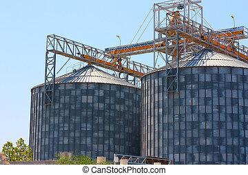 Grain Silos Construction
