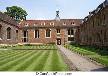 Magdalene College - Front court of Magdalene College