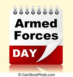 Armed Forces Day Represents Usa Calendar And Event - Armed...