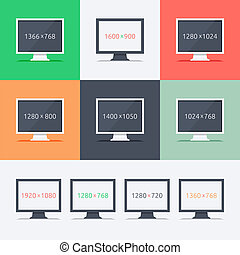 Responsive web design on different monitors - Responsive web...