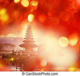 Ulun Danu - Pura Ulun Danu temple, Bali, Indonesia